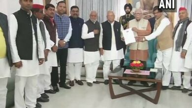 Photo of BSP-SP delegation meets UP Governor to protest grounding of Akhilesh Yadav