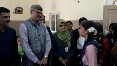 Photo of Jai R Krishna Visits Telangana Minority Residential School, Bahadurpura