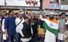Muslims Protest against Pulwama attack