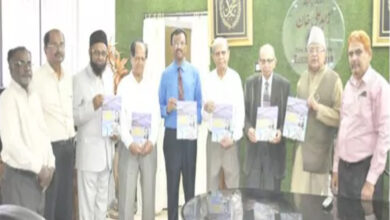 """Photo of Zahid Ali Khan releases book """"Always in the Right Place at the Right Time"""""""