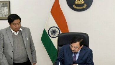 Photo of Sushil Chandra takes charge as new Election Commissioner