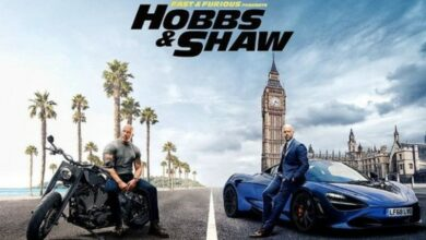 Photo of The Rock shares a new poster for 'Hobbs & Shaw'