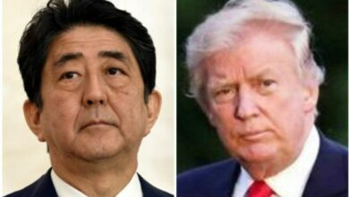 Photo of Abe avoids commenting on Trump' candidature for Nobel Prize