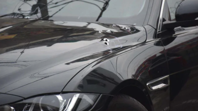 Photo of Delhi: Businessman's Jaguar car was sprayed with bullets