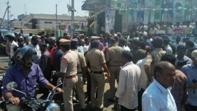 Photo of Andhra: YSRCP allege attack at party office by TDP