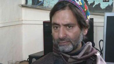 Photo of J-K: Separatist leader Yasin Malik detained in Srinagar