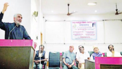 Photo of For getting rights, politicians should be questioned: Zaheeruddin Ali Khan