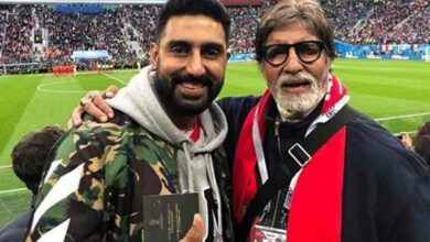 Photo of As Amitabh Bachchan completes 50 years in Bollywood, Abhishek shares heartfelt note