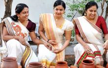 Record number of women take part in Attukal Pongala