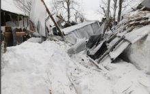 J-K: Avalanche hits Gurez, over dozen houses destroyed
