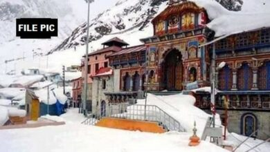 Photo of U'Khand: Badrinath shrine portals to be reopen for pilgrims on May 10
