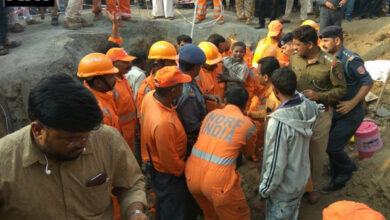 Photo of Infant stuck in Punjab borewell, rescue bid on
