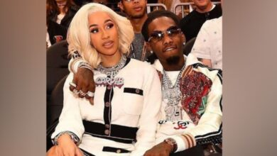 """Photo of Cardi B and Offset are """"working things out"""""""