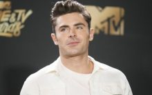 Zac Efron is healing from surgery after tearing his ACL