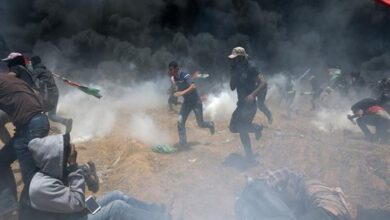 Photo of 19 Palestinians and Israeli soldier wounded in Gaza clashes