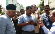 GHMC Commissioner Inspect works in Yakutpura