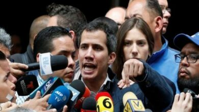 Photo of Guaido calls for fresh protest against Maduro