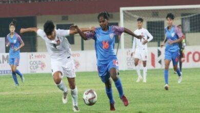 Photo of Myanmar end India women's Hero Gold Cup dream