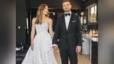 Photo of Jessica Biel shares cute post for Justin Timberlake on his birthday