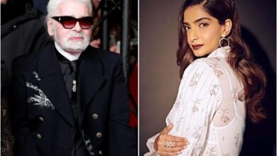 Photo of Sonam Kapoor pays heartfelt tribute to Karl Lagerfeld
