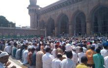 Makkah Masjid bomb blast completes 12 year, tight security today