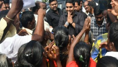 Photo of Nara Lokesh wears black to protest against PM Modi's Andhra visit