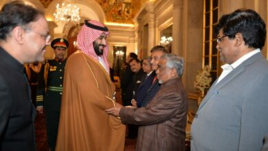 Photo of Prof. Akhtarul Wasey meets Saudi Crown Prince