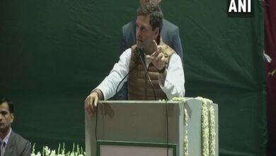 Photo of Rahul Gandhi: I challenge Narendra Modi to debate, he is 'darpok'.