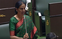 Justifying defection, Sabita says State development possible by TRS alone