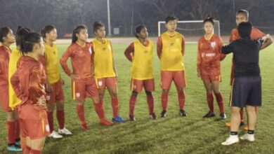Photo of Youngsters come to fore for Indian women football team ahead of Hero Gold Cup