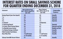 Poll bound government looks to raise small savings rate