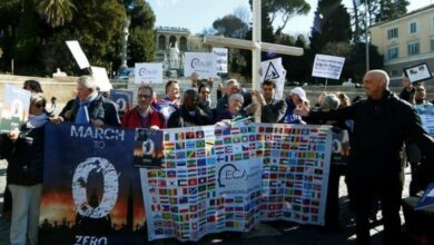 Photo of Victims of clerical sexual abuse hold protests near Vatican
