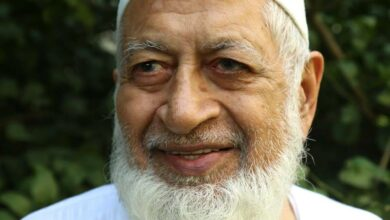 Photo of Yunus Dehlvi, former editor of 'Shama' passes away