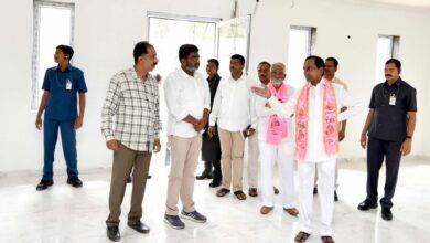 Photo of CM INSPECTING RENNOVATION WORKS IN TELANGANA BHAVAN