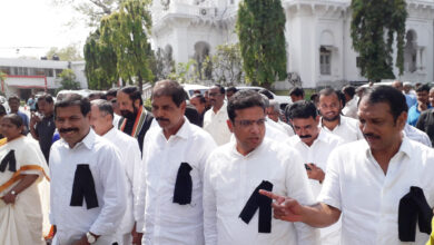 Photo of Save Democracy, Protest in State Assembly