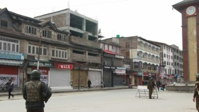 Photo of Kashmir Shuts over Yasin Malik's detention and JEI Ban, exclusive pictures