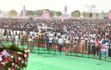 TRS Election Rally in MIRYALGUDA