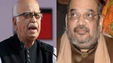 Photo of Advani didn't bless Amit Shah
