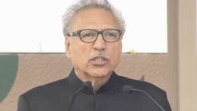 Photo of Pak President Alvi calls for dialogue with India, says desire for peace should not be considered as weakness