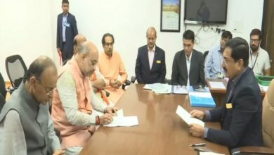 Photo of Amit Shah files nomination from Gandhinagar