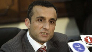 Photo of Afghan vice-presidential candidate Amrullah Saleh says 'JeM a venomous arm of ISI'