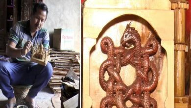 Photo of Bamboo and cane crafts remain an integral part of Manipur's economy, lifestyle