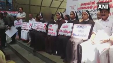 Photo of Kerala nun rape case: Protesting nuns question delay in filing of charge sheet against Bishop Mulakkal