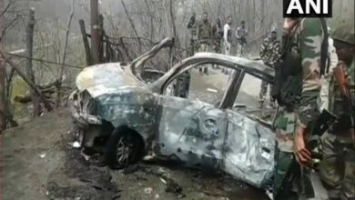 Photo of J-K: Car blast near Banihal, probe initiated