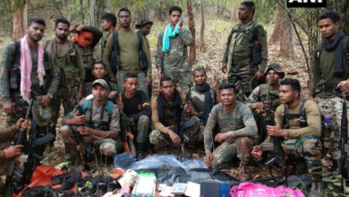 Photo of Naxal hideout busted in Chhattisgarh