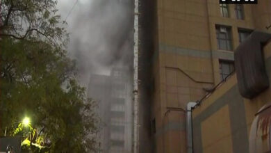 Photo of Fire breaks out at AIIMS Trauma Centre, no causalities