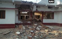 BJP leader Anuj Kumar's residence blown up by Naxals