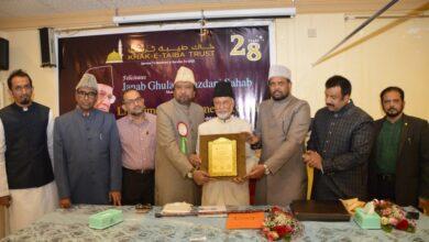Photo of Khak E Taiba Trust (KTT) felicitates Managing Trustee Ghulam Yazdani with Life Achievement Award