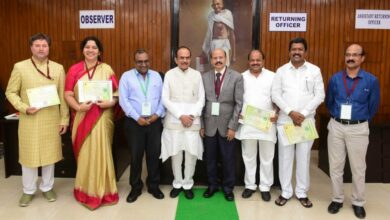 Photo of Seven MLCs take oath in Council