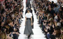 Dior sends feminist message in Paris Fashion Week